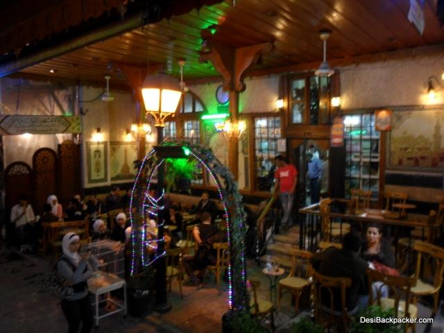 The Al Nawfara coffee shop in Damascus