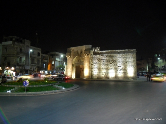 Bab Touma at Night