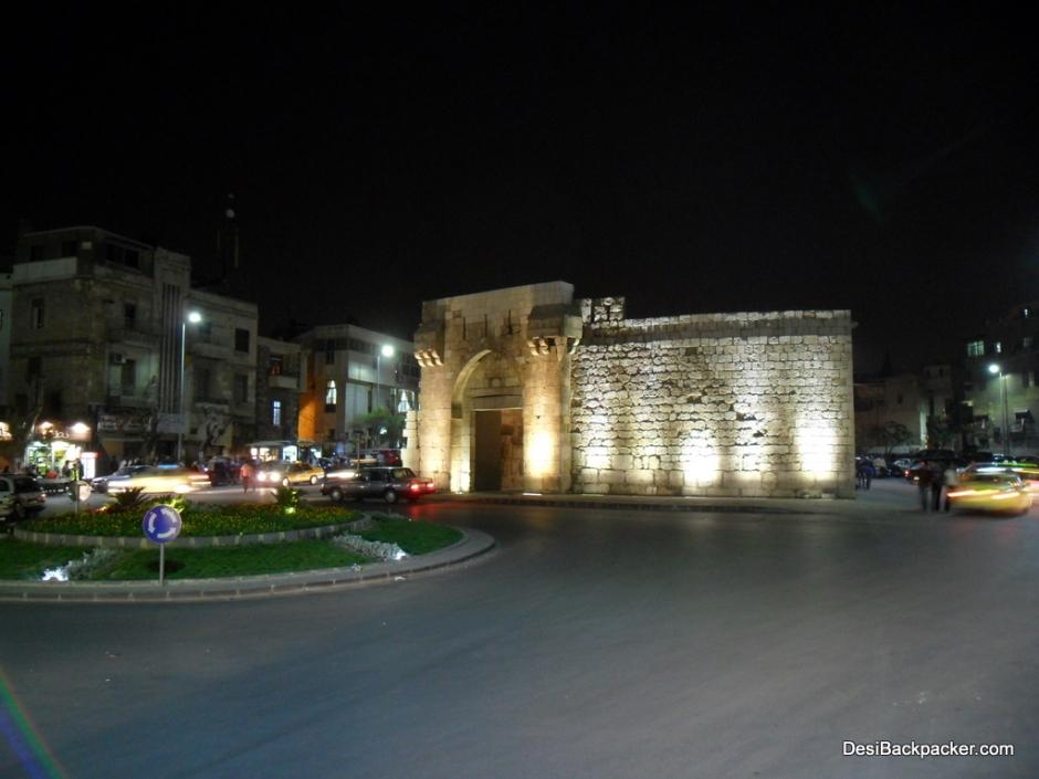 Bab Touma at Night