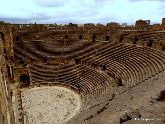 The Seating Area of the Bosra Amphitheater