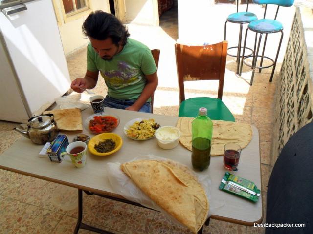 A Syrian Breakfast