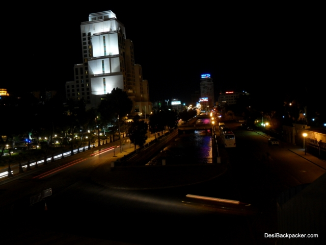 Damascus New City and the Barada River