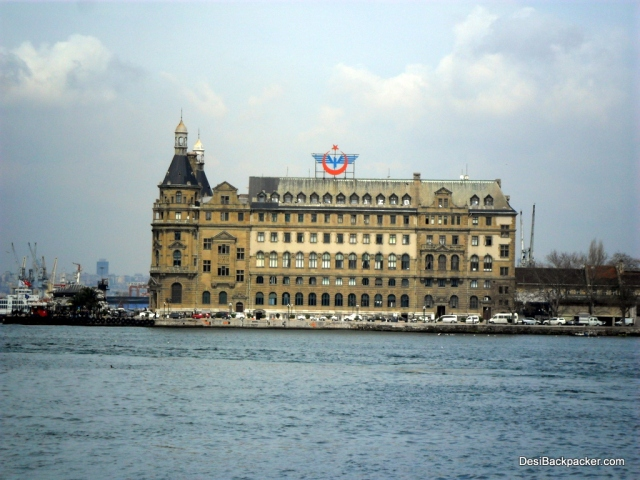 Haydarpasa Train Station as seen from Kadikoy