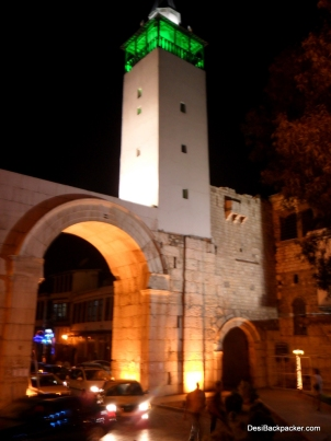 Sharky Bob - The east gate to the walled old city of Damascus