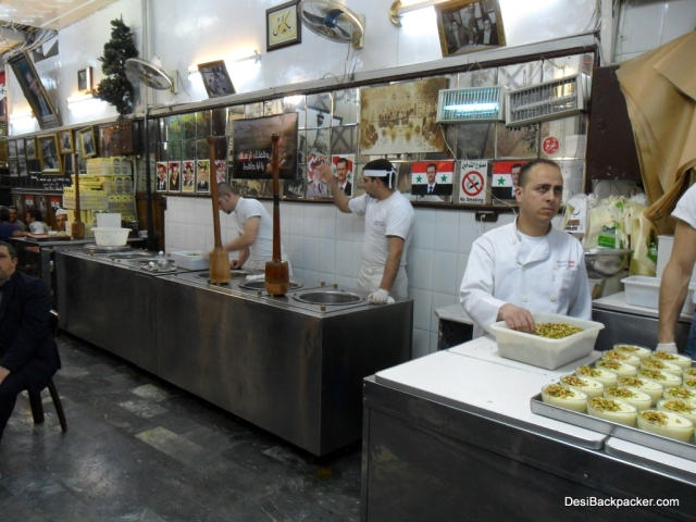 Bakdash Ice Cream Shop, Damascus