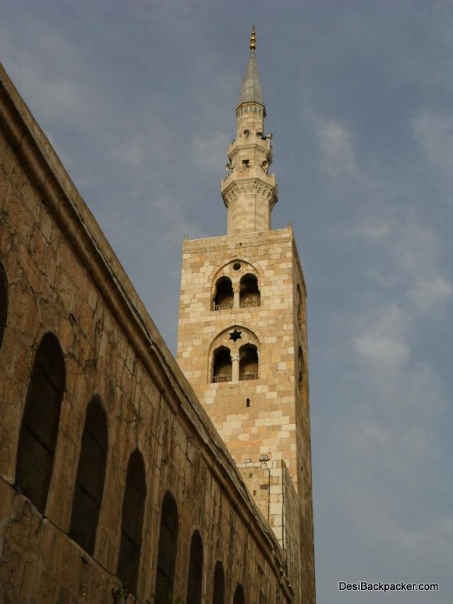 Minaret of Umayyad Mosque