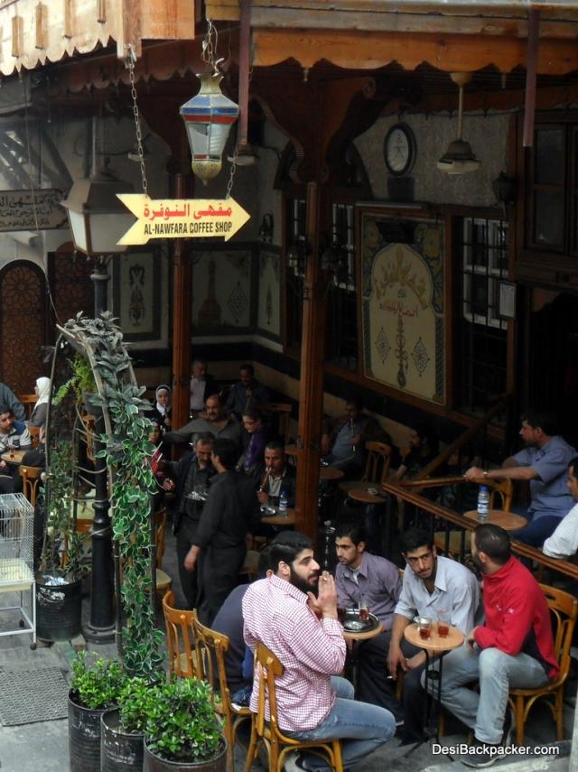 Al Nawfara Coffee Shop in Damascus