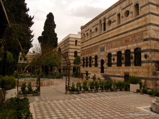 The Courtyard of the Azem Palace