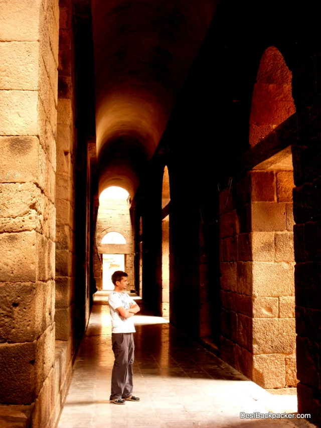 At the Amphtheater in Bosra