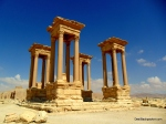 The Tetrapylon at Palmyra