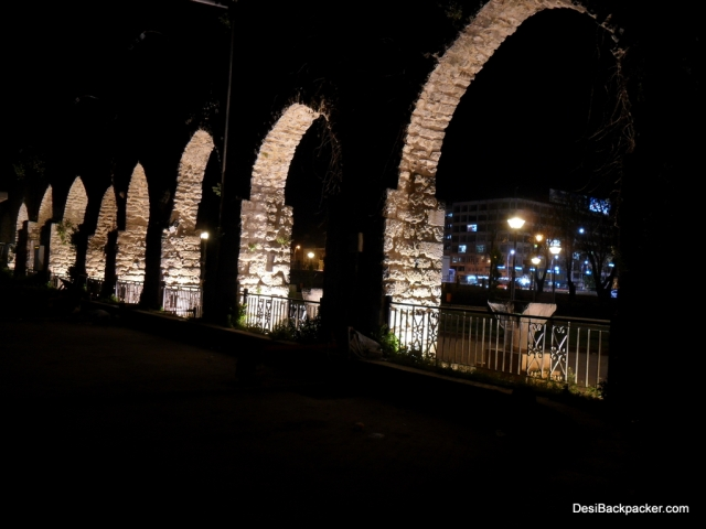 Aqueduct at Hama