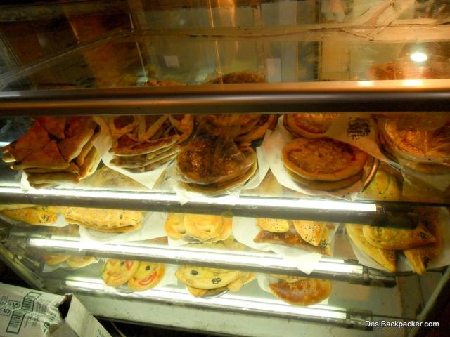 Snacks at a vendor in the Souq
