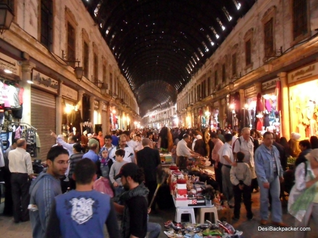 Al Hamidiyeh Souq in Damascus: Back in Action after the Friday holiday